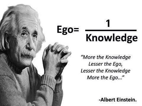 Albert-Einstein-Ego-versus-Knowledge