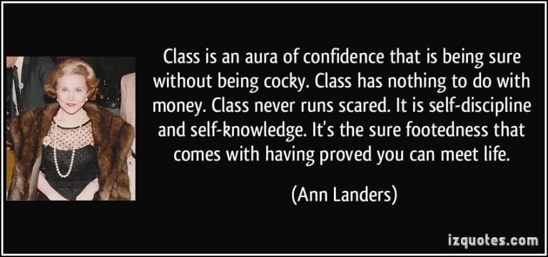 Annlandersconfidence